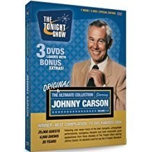 The Ultimate Johnny Carson Collection – His Favorite Moments From The Tonight Show (Box Set)