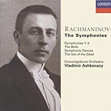 Rachmaninov -The Symphonies – Vladimir Ashkenazy (3 CDs)
