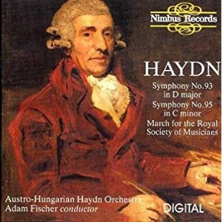 Haydn – Symphonies 93 & 95 – Adam Fischer
