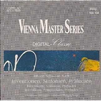 Johann Sebastian Bach – Inventions Sinfonias Preludes