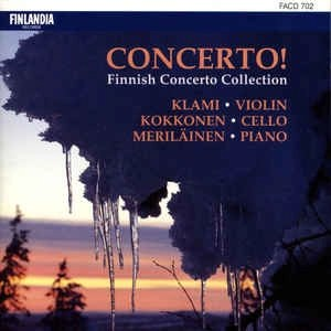 Concerto! Finnish Concerto Collection