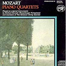 Mozart Piano Quartets – Richard Burnett