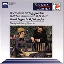 Beethoven – String Quartets – Budapest String Quartet