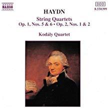 Haydn – String Quartets Opp. 1 & 2 – Kodaly Quartet