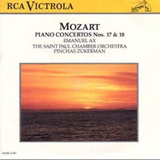 Mozart Piano Concerti No. 17 (K. 453) & No. 18 (K. 456) – Emanuel Ax