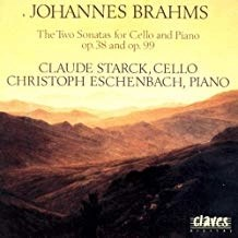 Brahms – The Sonatas for Cello & Piano – Claude Starck