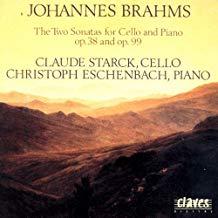 Brahms – The Sonatas for Cello & Piano – Claude Starck