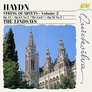 Haydn String Quartets Volume 2 – The Lindsays