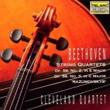 Beethoven – String Quartets, Op.59, No. 2 & 3 – Cleveland Quartet