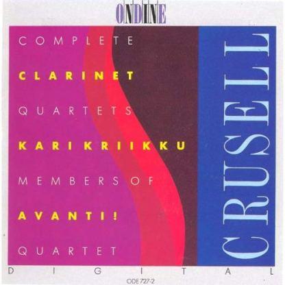 Crusell – Complete Clarinet Quartets – Karl Kriiku