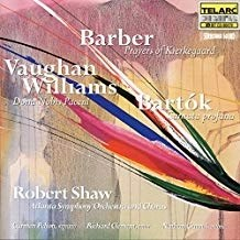 Barber, Bartok, Vaughan Williams – Robert Shaw