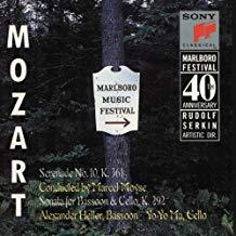 Mozart – Marlboro Music Festival-40th Anniversary