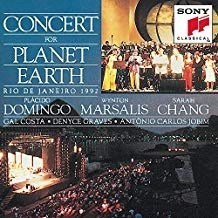 Concert for Planet Earth – Plácido Domingo, Wynton Marsalis, Sarah Chang