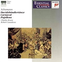Schumann – Davidsbundlertanze; Carnaval; Papillons (Essential Classics)