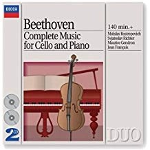 Beethoven – The Complete Music for Cello & Piano (2 CDs)