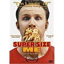 Super Size Me – Morgan Spurlock (DVD) PG13 WS