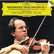 Shostakovich – Violin Concerto No.2 / Schumann/Shostakovich = Violin Concerto in A minor – Gidon Kremer
