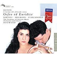 Haydn – Orfeo ed Euridice – BARTOLI, ETC. (2 CDs)