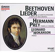 Beethoven – Lieder (complete recording (3 CDs) – Herman Prey