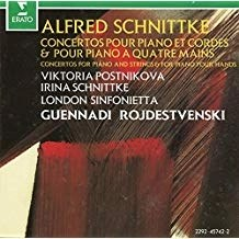 Schnittke – Concertos for Piano and Strings & for Piano four hands – Guennadi Rojdestvenski