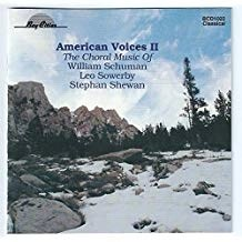 William Schuman, Leo Sowerby, Stephan Shewan – American Voices II