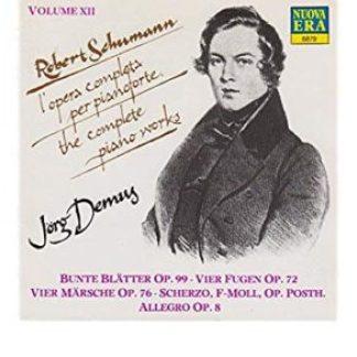 Schumann Piano Concerto Op. 54 – Concert Pieces – Murray Perahia