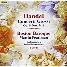 Handel – Concerti Grossi, Op. 6, Nos. 7-12 – Martin Pearlman SS