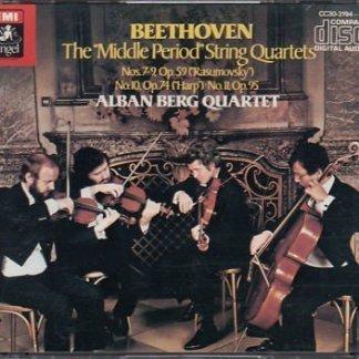 Beethoven – String Quartets Nos. 7-11 – Alban Berg Quartett (3 CDs)