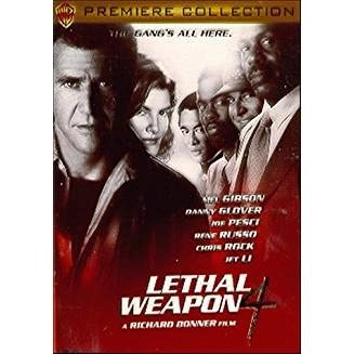 Lethal Weapon 4 – Mel Gibson, Danny Glover (DVD) R WS