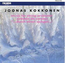 Joonas Kokkonen – Music For String Orchestra