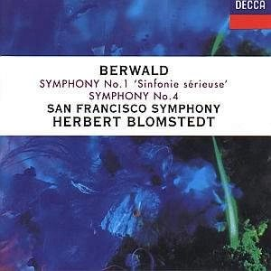 Berwald – Sinfonie Sérieuse & Symphony No. 4 – Herbert Blomstedt