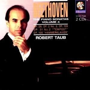 Beethoven – The Piano Sonatas, Vol. 4 – Robert Taub (2 CDs)