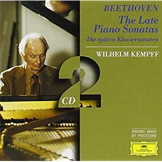 Beethoven Late Piano Sonatas – Wilhelm Kempff (2 CDs)