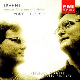 Brahms – Sonatas For Piano and Violin – Christian Tetzlaff, Lars Vogt