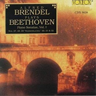 Alfred Brendel plays Beethoven Piano Sonatas, Vol.1 (2 CDs)