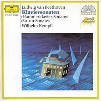 Beethoven – Piano Sonatas – The Tempest; Hammerklavier – Wilhelm Kempff