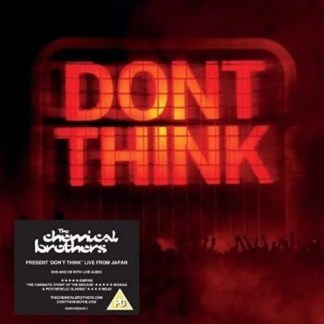 The Chemical Brothers – Don't Think (Blu-Ray)