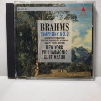 Brahms Symphony 2; Academic Festival Overture – Kurt Masur