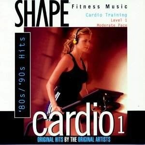 Shape Fitness Music – Cardio 1: 80s/90s Hits (Click for track lisrting)