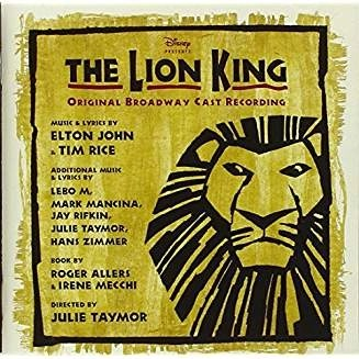 The Lion King Broadway Soundtrack SS