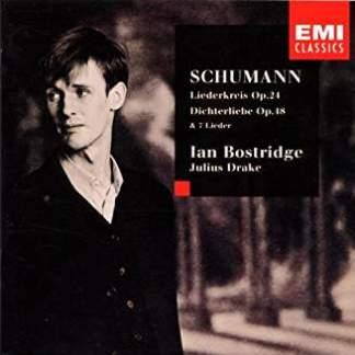 Schumann –  Dichterliebe, Liederkreis, Op. 24 – Ian Bostridge (Warp in artwork)