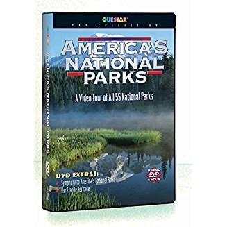 America's National Parks – A Video Tour of All 55 National Parks (2 DVDs)