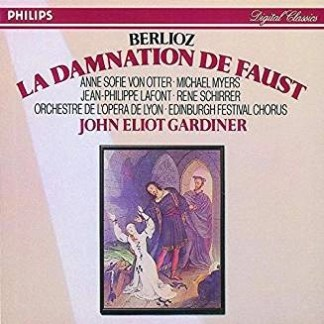 Berlioz – La Damnation De Faust ~ John Eliot Gardiner (2 CDs) (Cut Out)