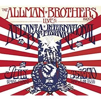 The Allman Brothers Band – Live At The Atlanta International Pop Festival July 3 & 5 (2 CDs)