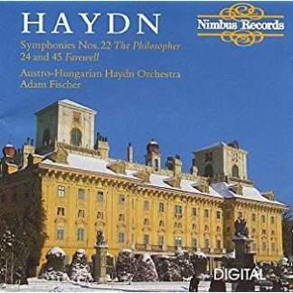 Haydn Symphonies 22, 24 & 45 – Adam Fischer