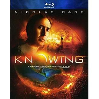 Knowing – Nicolas Cage Directed by Alex Proyas PG13