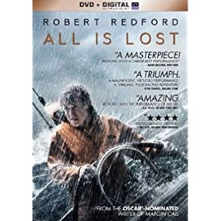 All Is Lost – Robert Redford (DVD) PG13 WS
