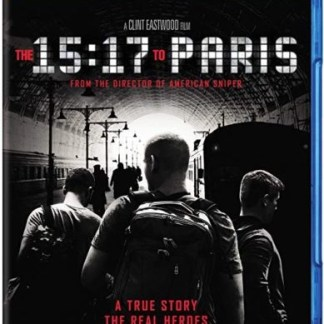 The 15.17 to Paris – A Clint Eastwood Film (Blu-Ray + DVD + Digital) PG13 SS