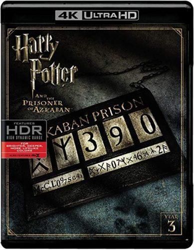 Harry Potter and The Prisoner of Azkaban (4K Ultra HD + Blu-Ray + Digital) PG SS