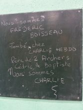 Nous pensons à Frédéric Boisseau et à sa famille